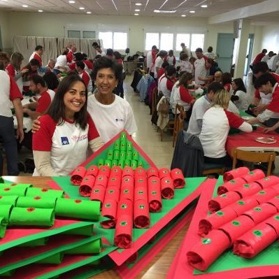 Voluntarios de empresa AXA Seguros 2015