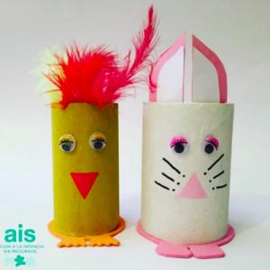 ENROLLATE: ejemplo de las monas de Pascua