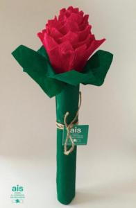 ENROLLATE: ejemplo de rosa