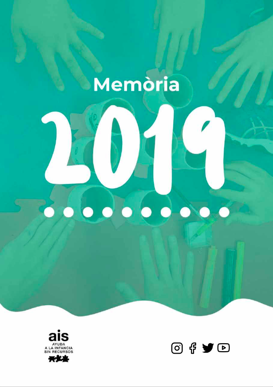 Portada memoria Activitats AIS 2019