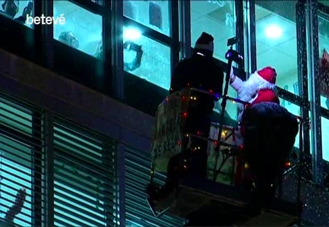 Pare Noel sobre rodes BETEVE