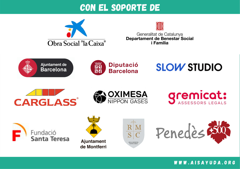 Colaboradores y patrocinadores La Ventana ALT CAMP