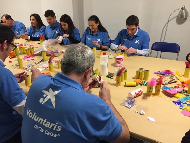 Voluntarios La Caixa 2017