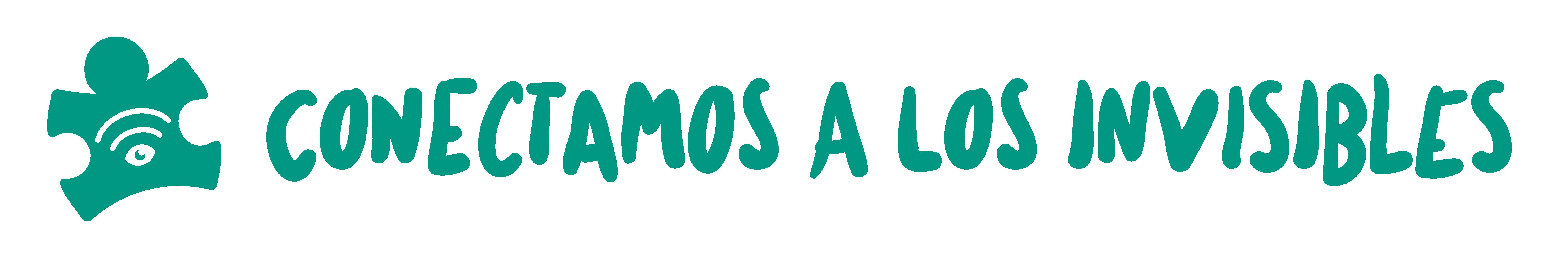 Logo verde Conectamos a los invisiblles