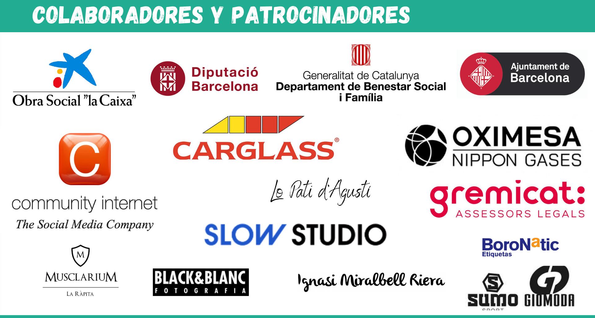 logos Patrocinadores y colaboradores la ventana AIS ayuda Delta