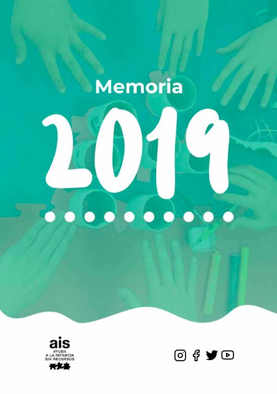 Portada memoria Actividades AIS 2019 castellano