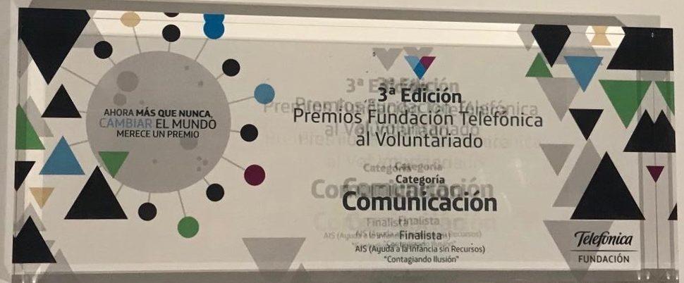 premio finalistas telefonica AIS ayuda 2020